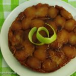 Gluten-free upside down apple pie (tarte tatin).